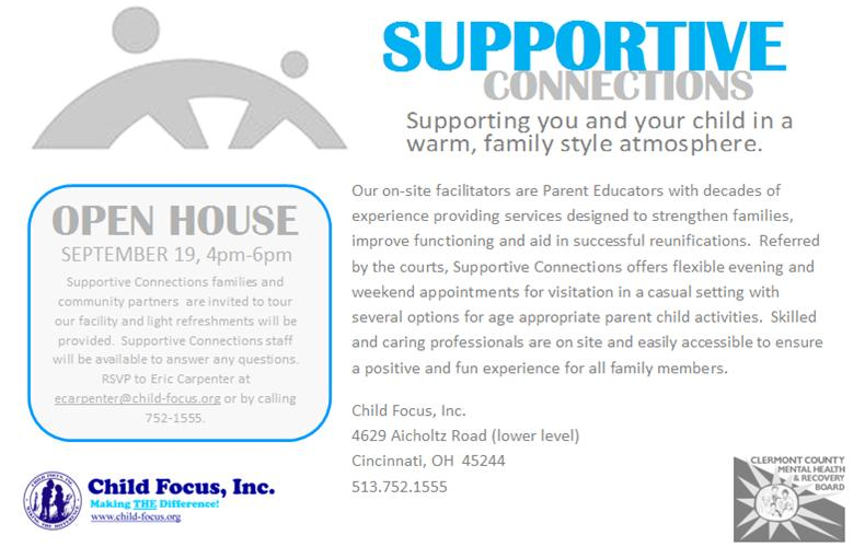 Supportive Connections hosted an Open House